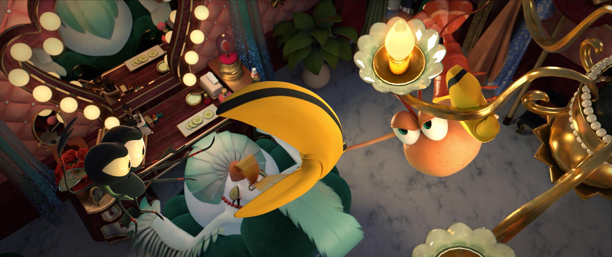 Mastère Cinéma d'Animation 3D