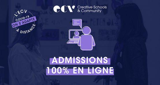 Admissions en ligne - ECV