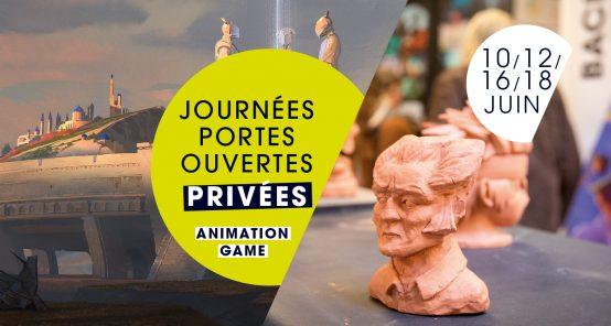 JPO privées animation game