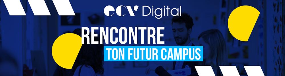 Rencontre ton futur campus ECV Digital