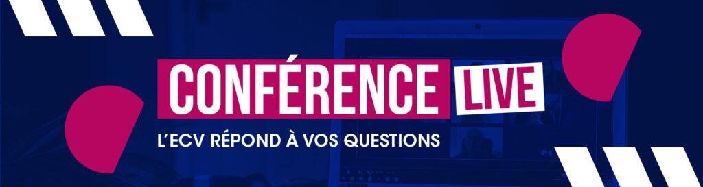 L'ecv répond à vos questions - conférences